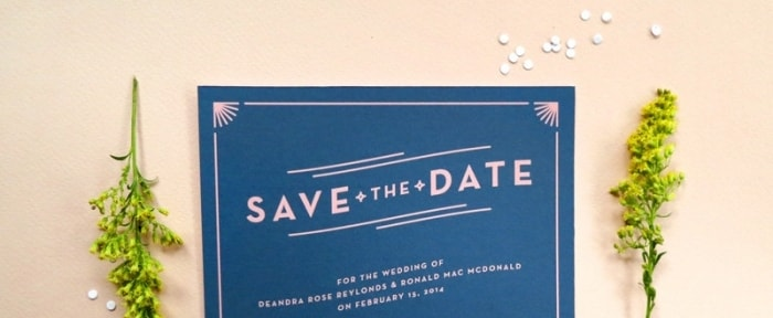 View Information about Save the Date