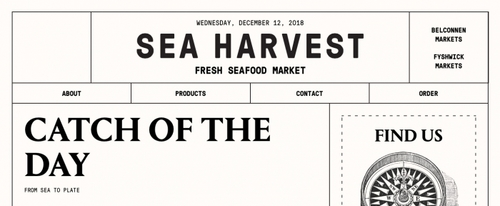 View Information about Sea Harvest