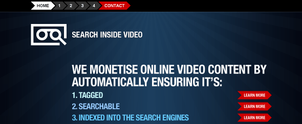 View Information about Search Inside Video