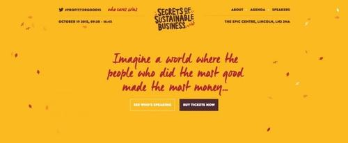 View Information about Secrets to Sustainable Business