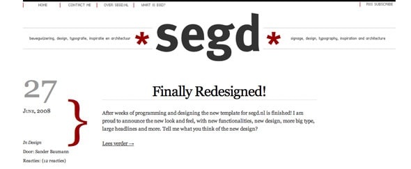 View Information about Segd