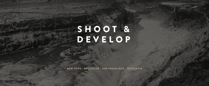 View Information about Shoot & Develop