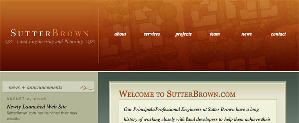 View Information about SutterBrown