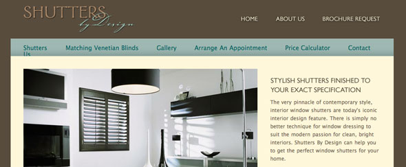 View Information about Shutters By Design