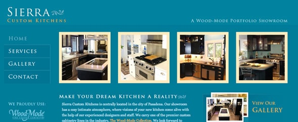 View Information about Sierra Kitchens