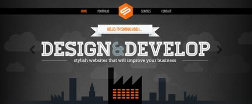 View Information about Siminki - freelance web design