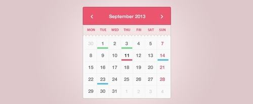 View Information about Simple & Sweet Calendar Widget
