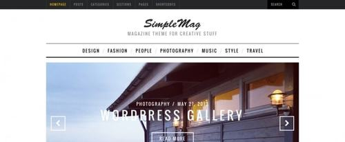 View Information about SimpleMag