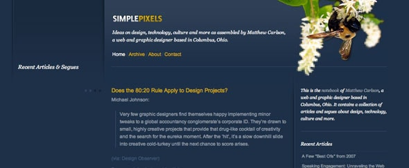 View Information about Simplepixels