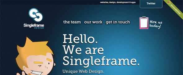 View Information about Singleframe Design
