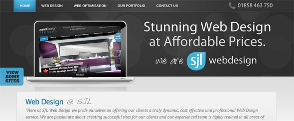View Information about SJL Web Design