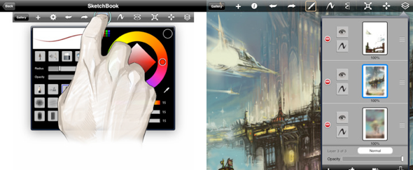 View Information about Sketchbook Pro for iPad