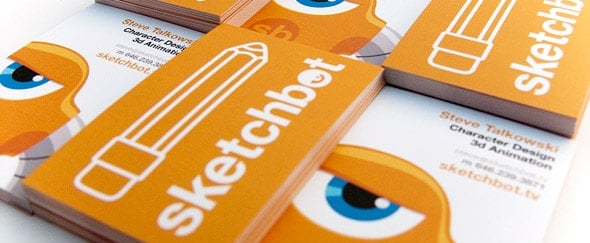Go To Sketchbot Biz Card V2