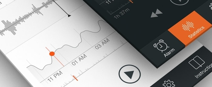 View Information about Sleep Tracker iPhone App Design