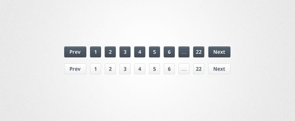 Go To Slick Pagination PSD