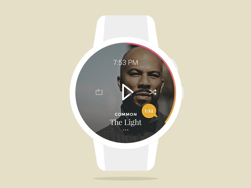 Go To Smartwatch Music