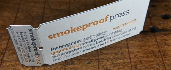 View Information about Smokeproof Press
