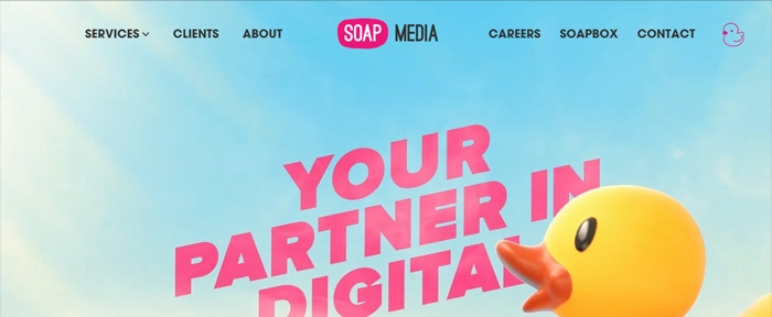 View Information about Soap Media