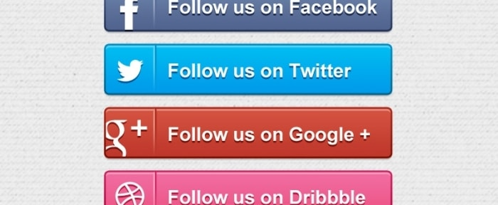 View Information about Social Media Follow Buttons