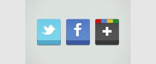 View Information about Social Media Icons