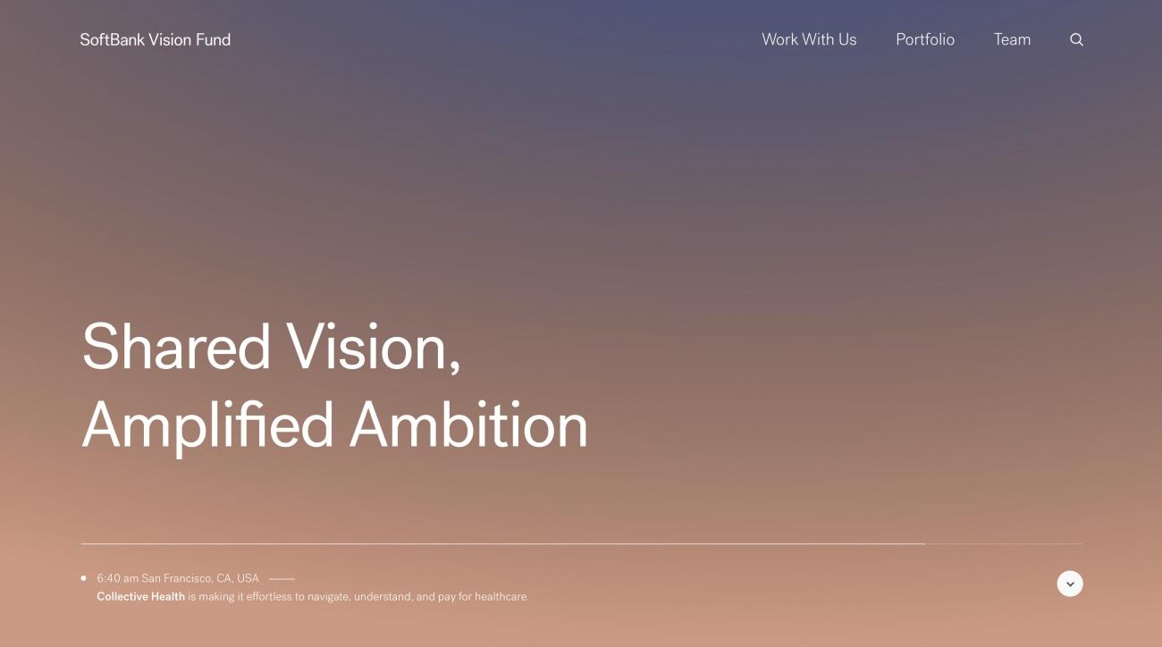 Go To SoftBank Vision Fund