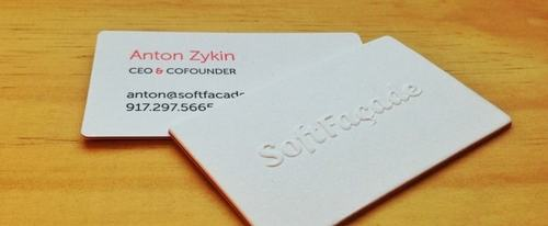 View Information about SoftFacade Business Cards