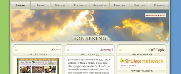 Go To SonSpring Design