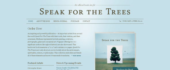 View Information about Speak For The Trees Book