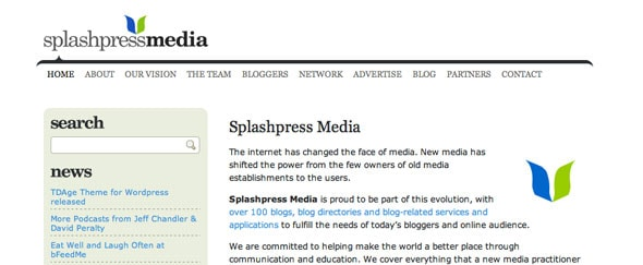 View Information about Splashpress
