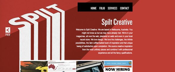 View Information about Split Creative
