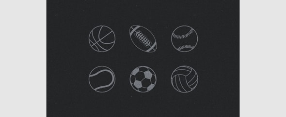View Information about Sports Icons