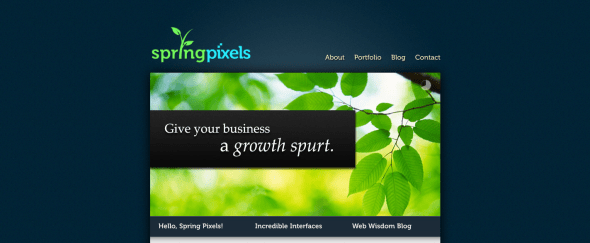 View Information about Spring Pixels