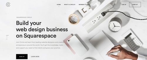View Information about Squarespace Circle