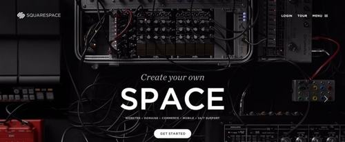 View Information about Squarespace Front Site