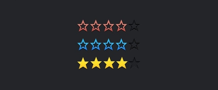 View Information about Star Rating Vector