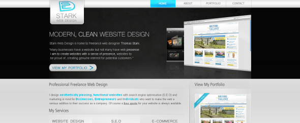 View Information about Stark Web design