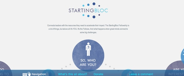 View Information about StartingBloc Needs You