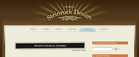 View Information about Steinruck Design