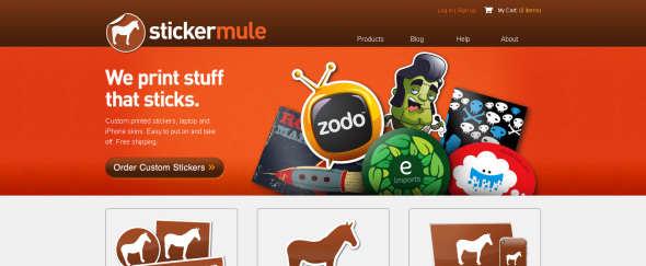 View Information about Sticker Mule