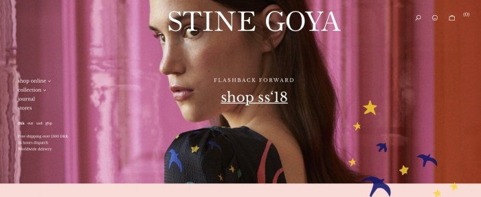 View Information about Stine Goya