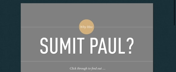 View Information about Sumit Paul