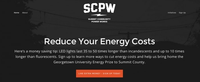 View Information about Summit Community Power Works