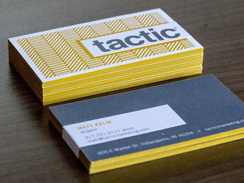 Go To Tactic Business Cards