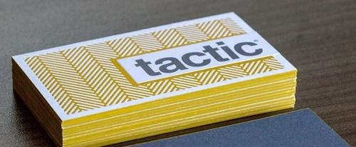 View Information about Tactic Business Cards