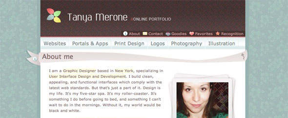 View Information about Tanya Merone