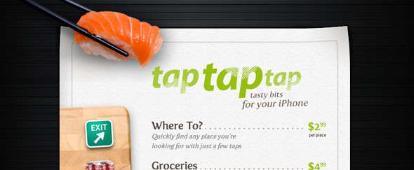 View Information about Taptaptap