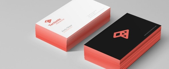 View Information about Tectonic Business Cards