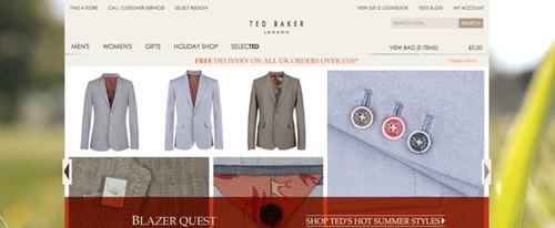 View Information about Ted Baker