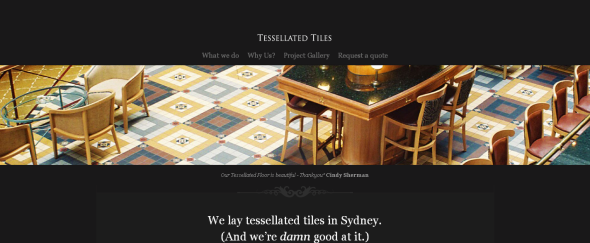 Go To Tessellated Tiles
