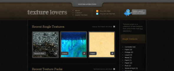 View Information about Texture Lovers